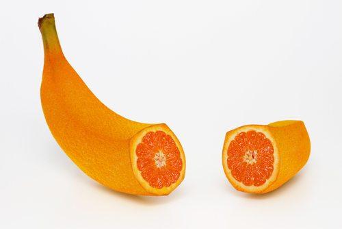 banana/orange