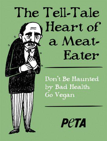 "PETA's ""The Telltale Heart"" Ad"