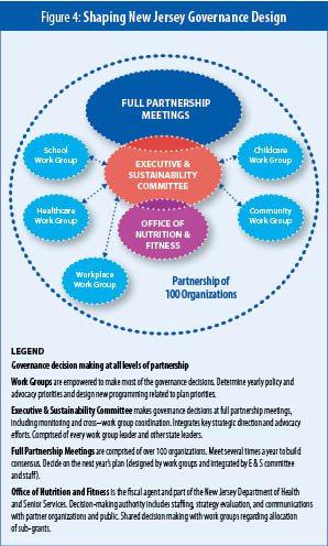 Figure 4: Shaping New Jersey Governance Design