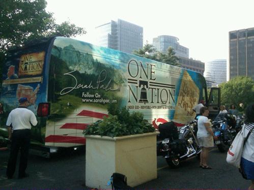 Sarah Palin's bus