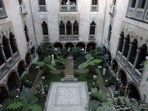 Gardner Museum courtyard