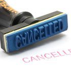 Cancelled-stamp