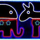 Elephant-Donkey-black