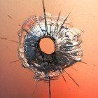 bullet-hole