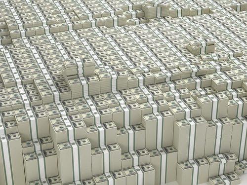 Stacked-money