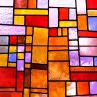 Orange-mosaics