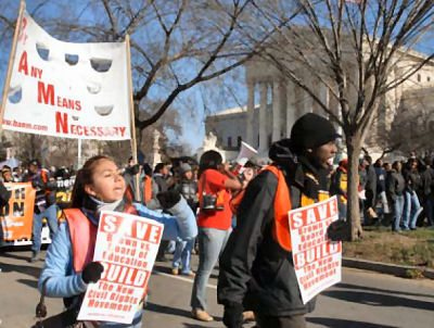 Affirmative Action March in Washington