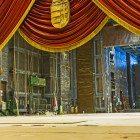 Opera-curtain