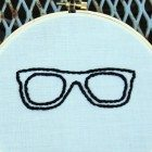 Embroidered-glasses