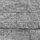 Carved-freedom-quote