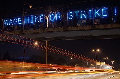 Wage Hike or Strike