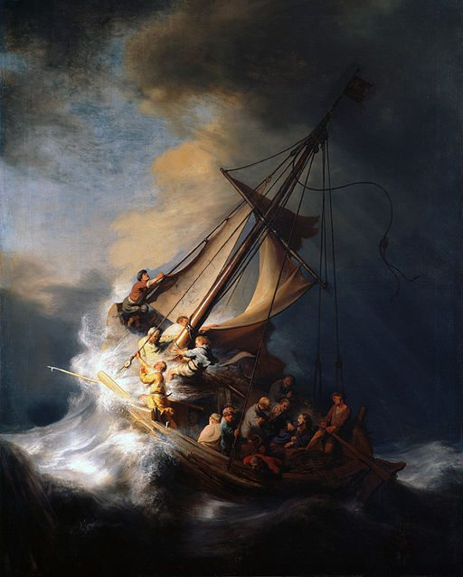 512px-Rembrandt Christ in the Storm on the Lake of Galilee