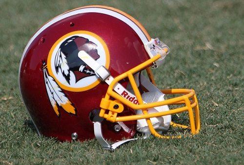 Redskin helmet