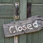 Closed-wooden