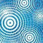 Blue-ripples