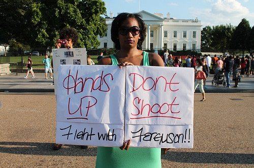 Hand Up Don't Shoot