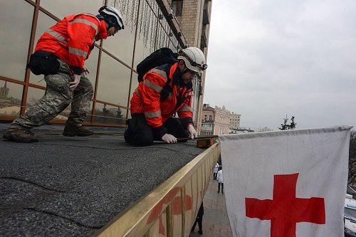 Red Cross in Ukraine