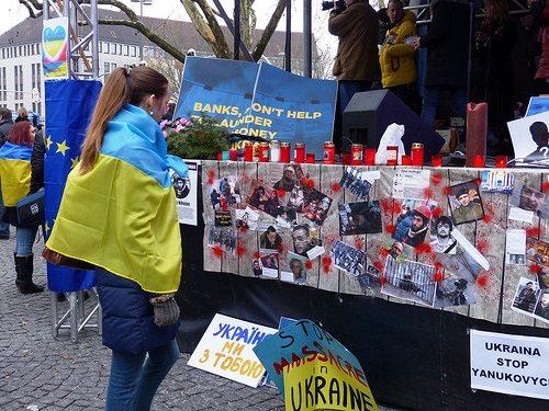 Ukraine Demonstation