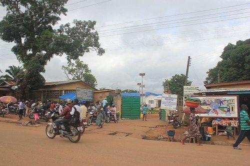 Hospital treating Ebola