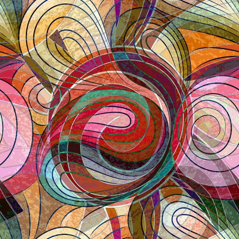 Swirling abstraction