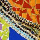Mosaic-closeup