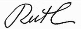 Ruth-sign