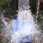 Bucket-ice-dump