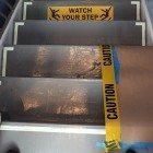Caution-steps
