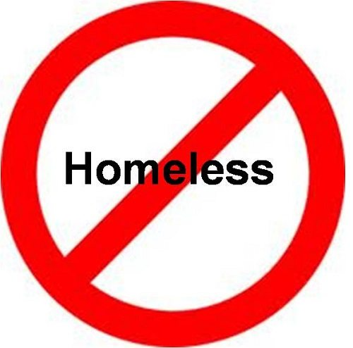 No Homeless Allowed
