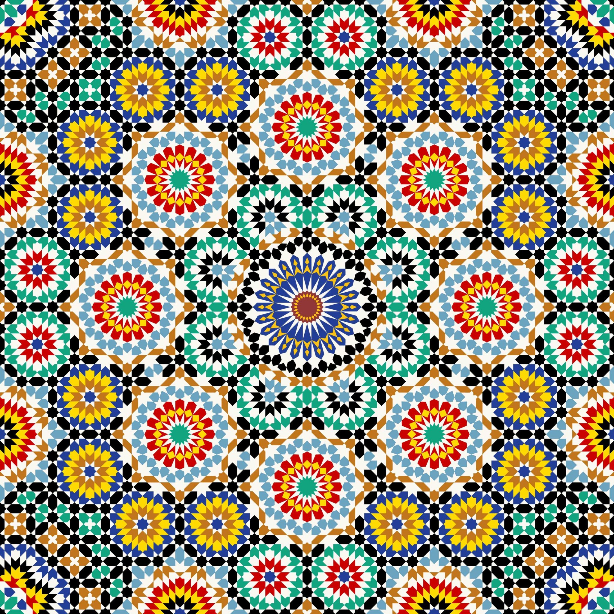 Spanish-mosaic-pattern