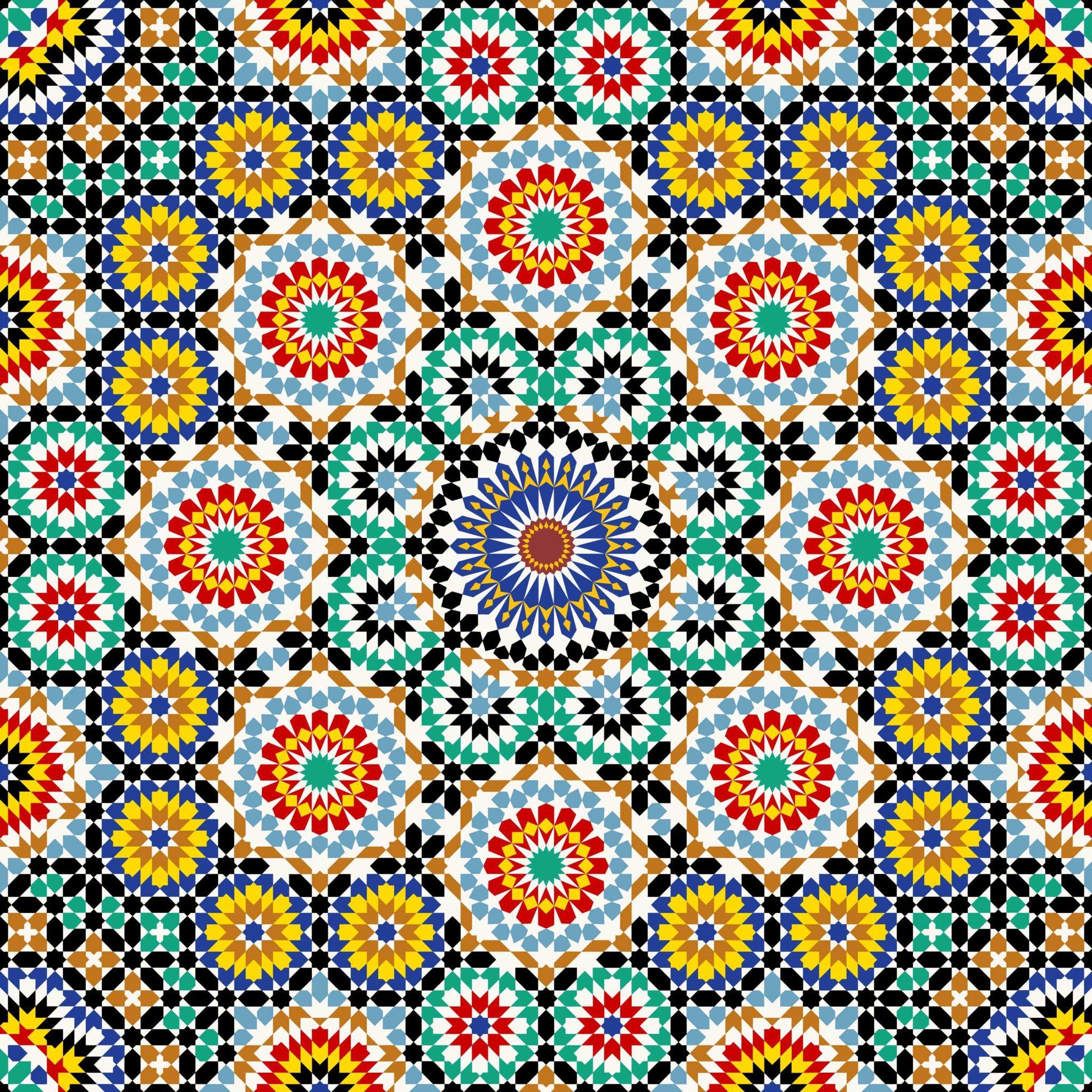 Spanish-mosaic-pattern