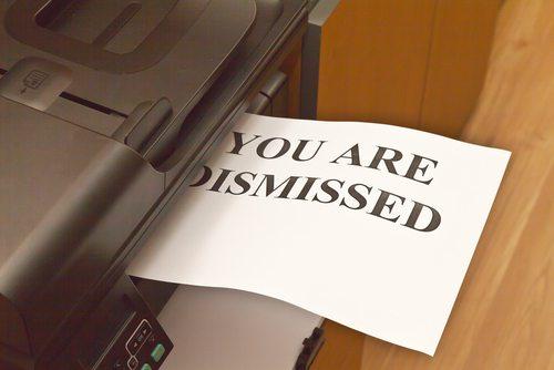 Dismissing volunteers