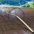Watering-farmland
