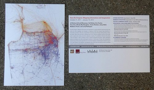 SF Mapping Art Project