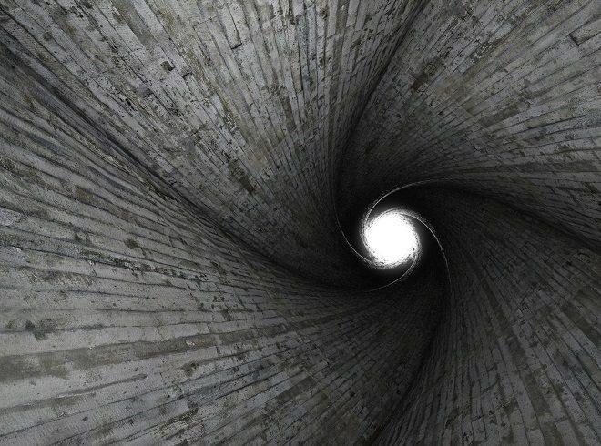 Black-spiral