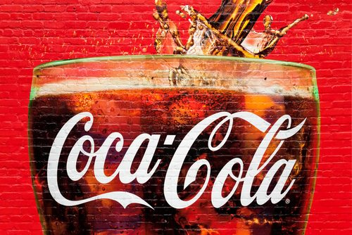 Coca-Cola-wall