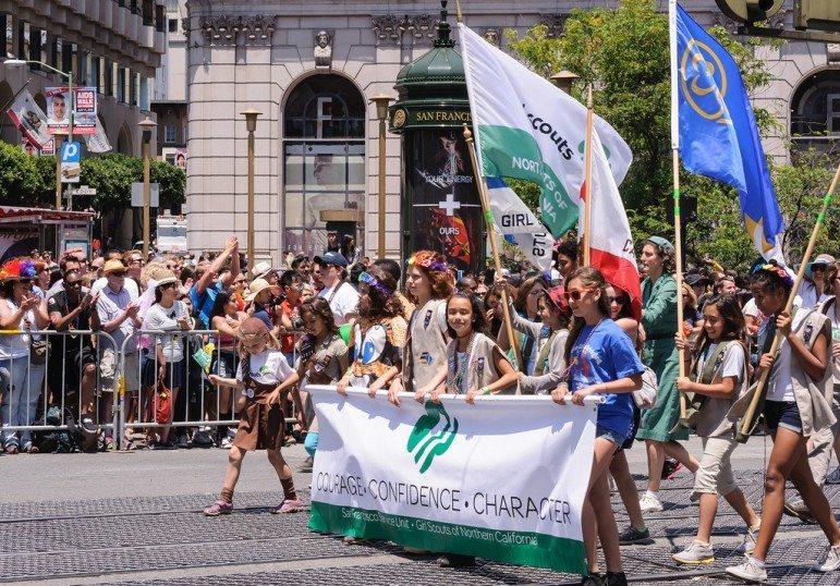 Girl-Scouts-pride-fest