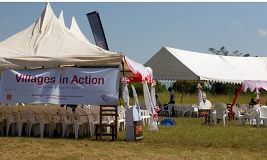 Villages in Action conference in 2010. (Courtesy of Teddy Ruge)
