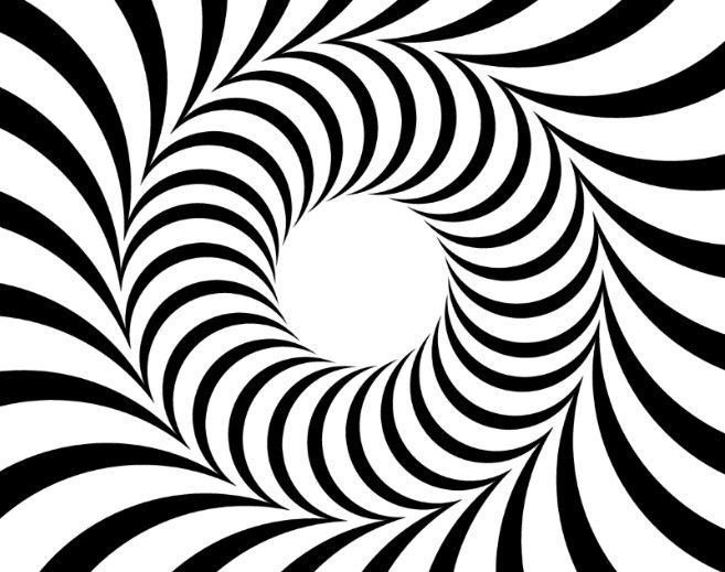 Abstract-circle-illusion