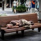 Bench-for-sleeping