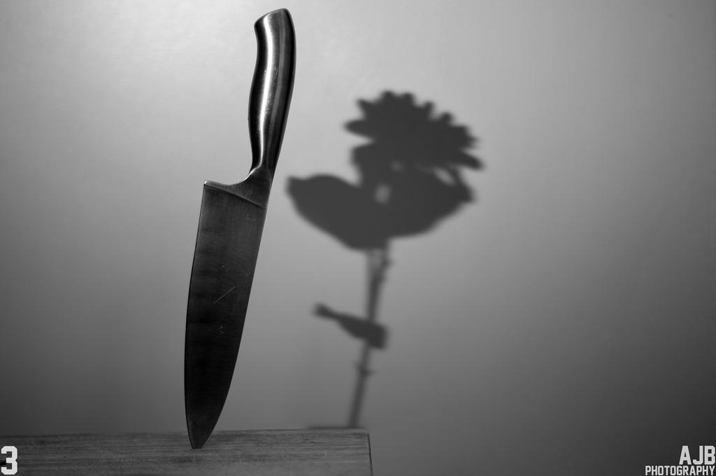 Knife-Flower