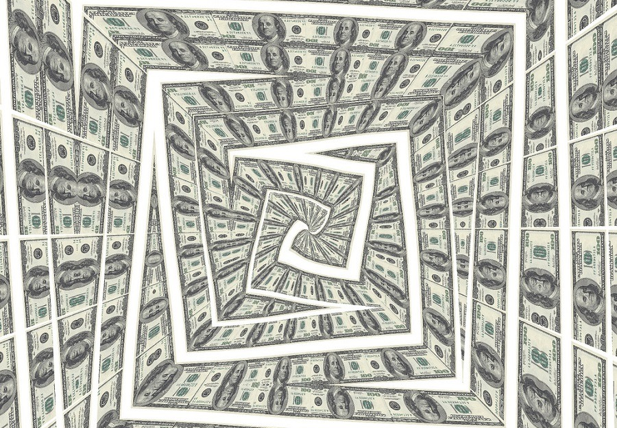 Swirling-money