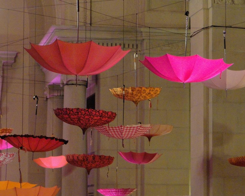 Upside-down-umbrellas