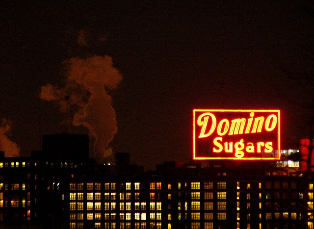Domino Sugars from Federal Hill.