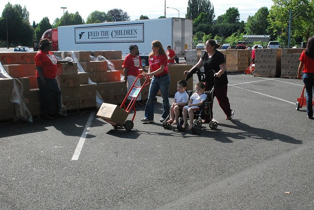 Feed The Children Americans Feeding Americans – July 27, 2011 in Portland, OR