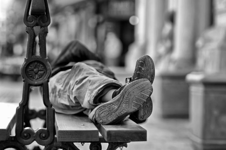 Homeless-sleeper