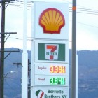 Shell-station