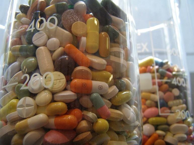 Weighing-pills
