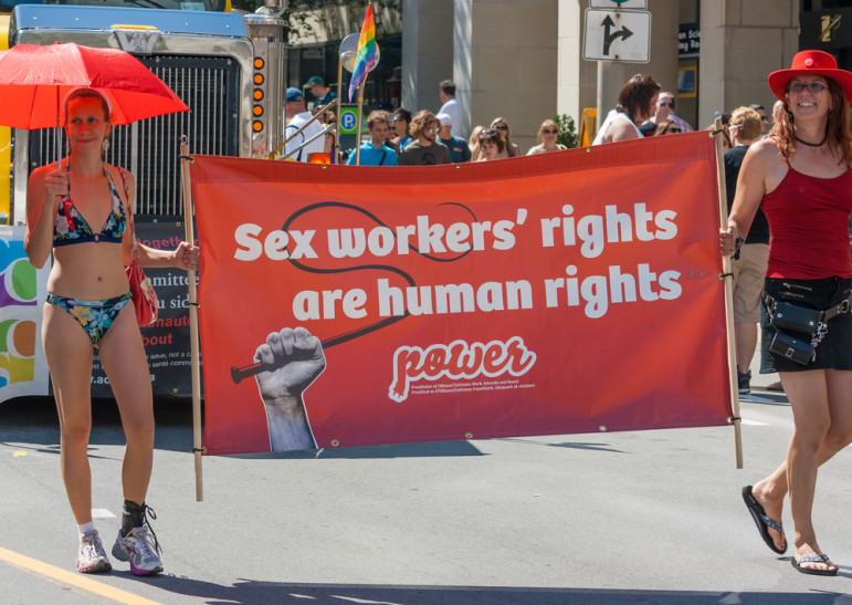 Sex trade workers