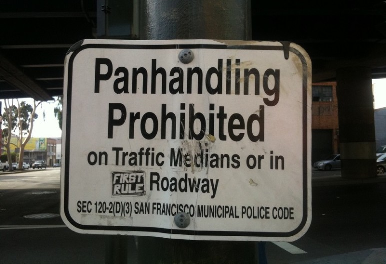 Panhandling-prohibited